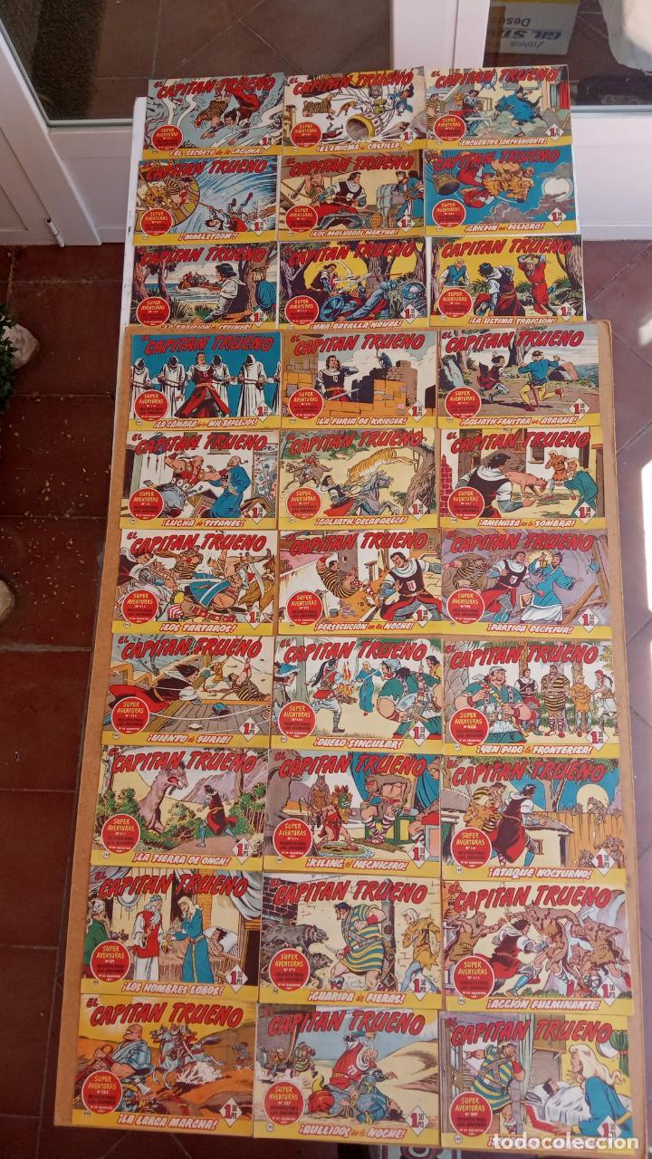 Tebeos: EL CAPITÀN TRUENO ORIGINAL AÑO 1956 COMPLETA Y SUELTA 1 AL 618 - VER TODAS LAS PORTADAS, MUY BUENA - Foto 94 - 204841075
