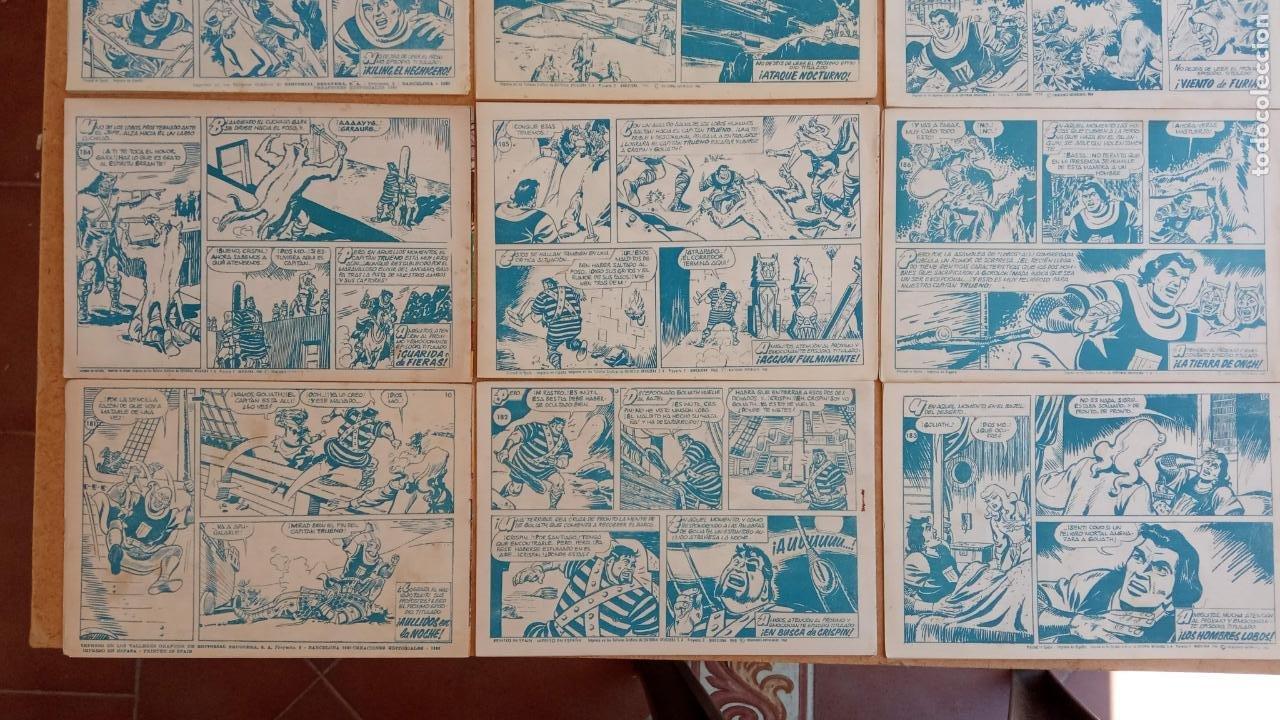 Tebeos: EL CAPITÀN TRUENO ORIGINAL AÑO 1956 COMPLETA Y SUELTA 1 AL 618 - VER TODAS LAS PORTADAS, MUY BUENA - Foto 100 - 204841075