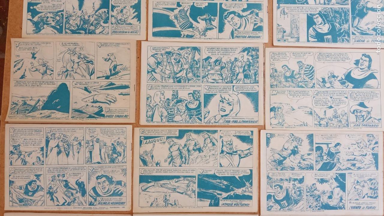 Tebeos: EL CAPITÀN TRUENO ORIGINAL AÑO 1956 COMPLETA Y SUELTA 1 AL 618 - VER TODAS LAS PORTADAS, MUY BUENA - Foto 101 - 204841075