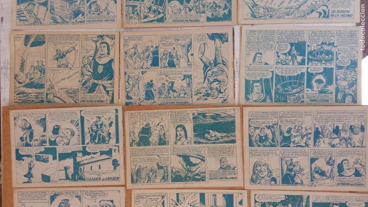 Tebeos: EL CAPITÀN TRUENO ORIGINAL AÑO 1956 COMPLETA Y SUELTA 1 AL 618 - VER TODAS LAS PORTADAS, MUY BUENA - Foto 103 - 204841075