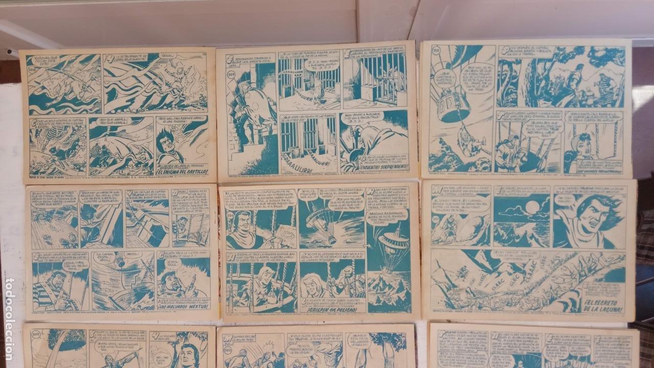 Tebeos: EL CAPITÀN TRUENO ORIGINAL AÑO 1956 COMPLETA Y SUELTA 1 AL 618 - VER TODAS LAS PORTADAS, MUY BUENA - Foto 104 - 204841075