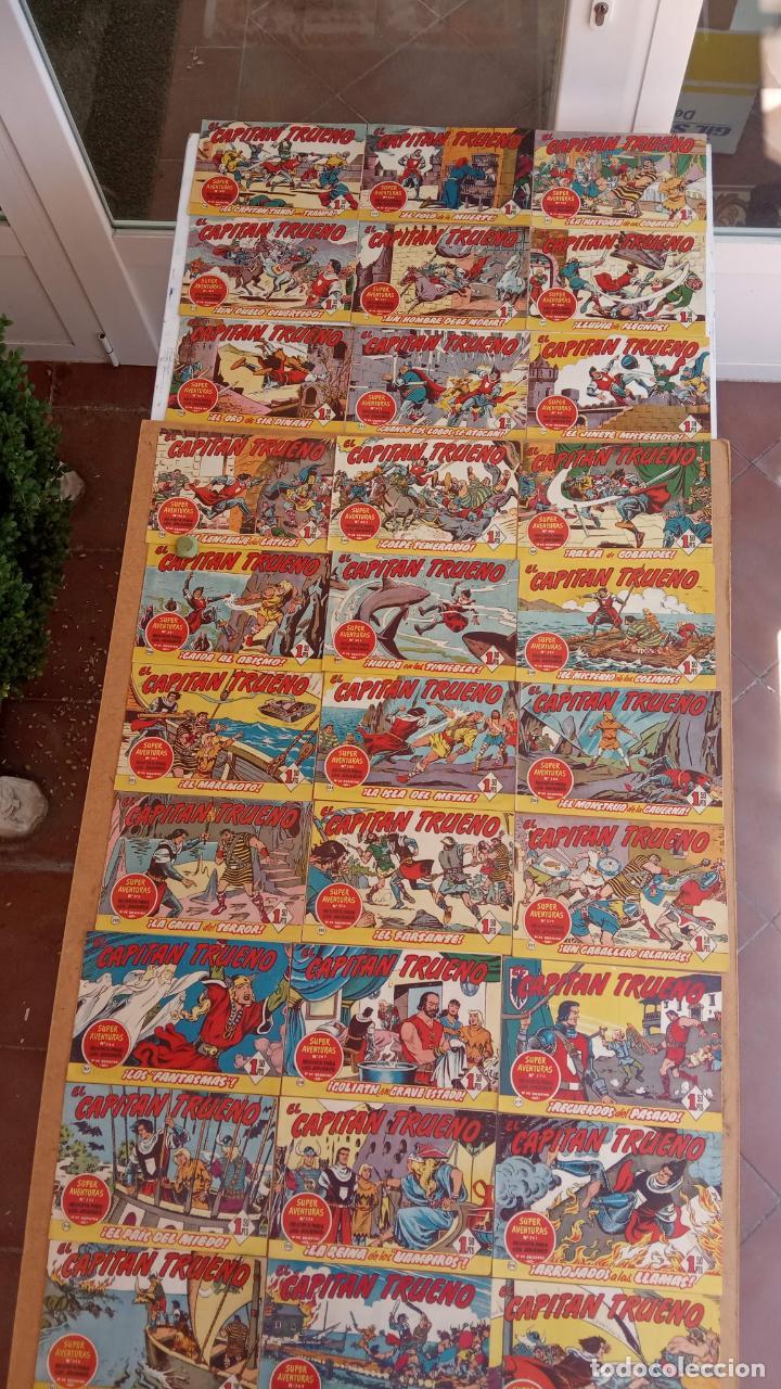 Tebeos: EL CAPITÀN TRUENO ORIGINAL AÑO 1956 COMPLETA Y SUELTA 1 AL 618 - VER TODAS LAS PORTADAS, MUY BUENA - Foto 105 - 204841075