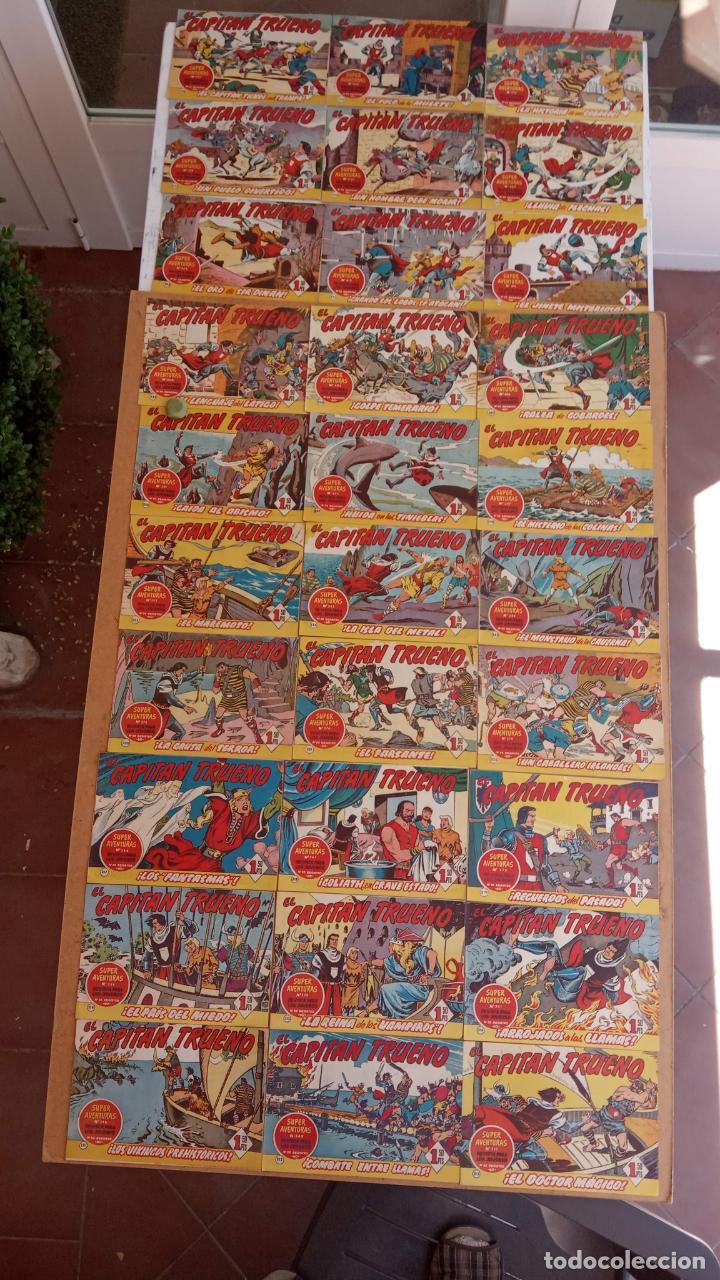Tebeos: EL CAPITÀN TRUENO ORIGINAL AÑO 1956 COMPLETA Y SUELTA 1 AL 618 - VER TODAS LAS PORTADAS, MUY BUENA - Foto 106 - 204841075