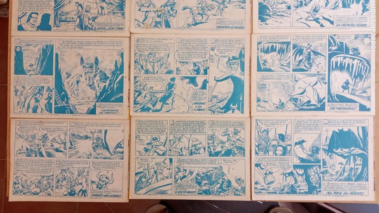 Tebeos: EL CAPITÀN TRUENO ORIGINAL AÑO 1956 COMPLETA Y SUELTA 1 AL 618 - VER TODAS LAS PORTADAS, MUY BUENA - Foto 113 - 204841075