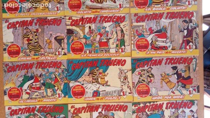Tebeos: EL CAPITÀN TRUENO ORIGINAL AÑO 1956 COMPLETA Y SUELTA 1 AL 618 - VER TODAS LAS PORTADAS, MUY BUENA - Foto 121 - 204841075
