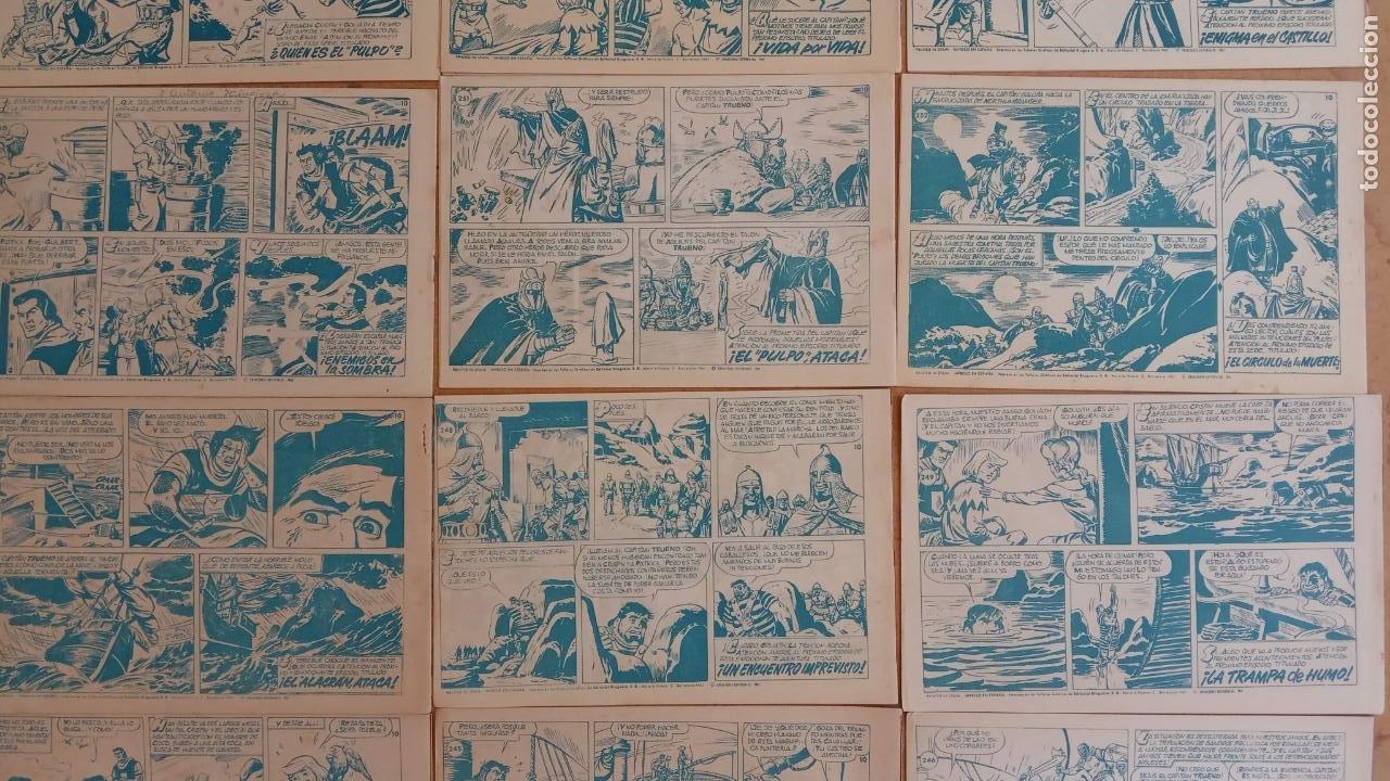 Tebeos: EL CAPITÀN TRUENO ORIGINAL AÑO 1956 COMPLETA Y SUELTA 1 AL 618 - VER TODAS LAS PORTADAS, MUY BUENA - Foto 126 - 204841075