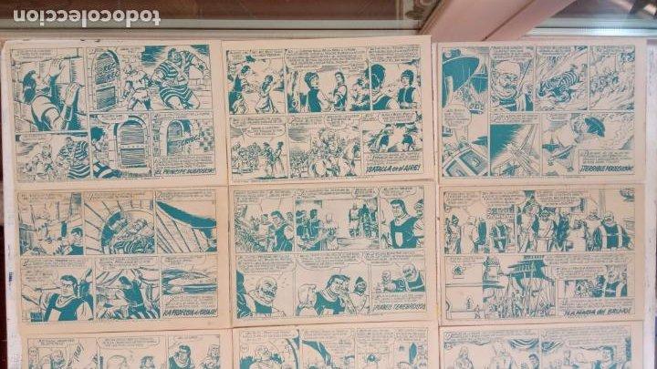 Tebeos: EL CAPITÀN TRUENO ORIGINAL AÑO 1956 COMPLETA Y SUELTA 1 AL 618 - VER TODAS LAS PORTADAS, MUY BUENA - Foto 129 - 204841075