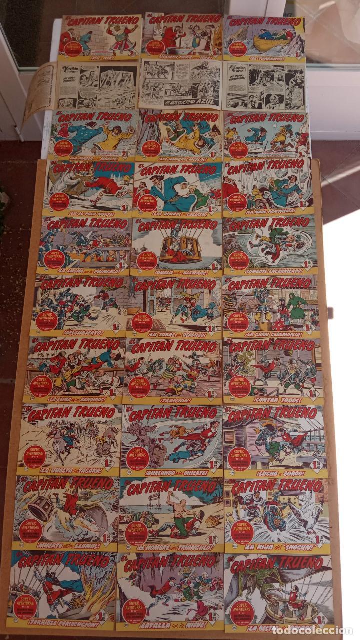 Tebeos: EL CAPITÀN TRUENO ORIGINAL AÑO 1956 COMPLETA Y SUELTA 1 AL 618 - VER TODAS LAS PORTADAS, MUY BUENA - Foto 130 - 204841075