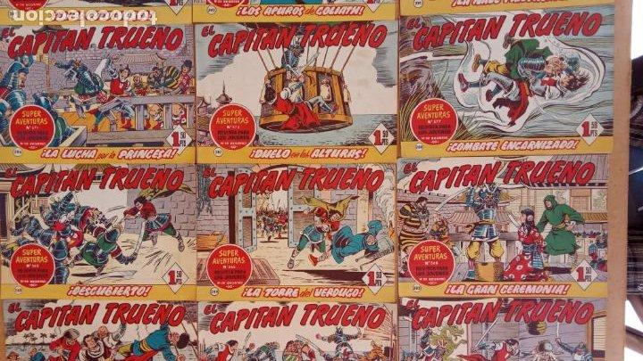 Tebeos: EL CAPITÀN TRUENO ORIGINAL AÑO 1956 COMPLETA Y SUELTA 1 AL 618 - VER TODAS LAS PORTADAS, MUY BUENA - Foto 133 - 204841075
