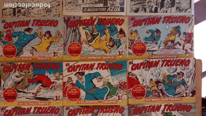 Tebeos: EL CAPITÀN TRUENO ORIGINAL AÑO 1956 COMPLETA Y SUELTA 1 AL 618 - VER TODAS LAS PORTADAS, MUY BUENA - Foto 134 - 204841075