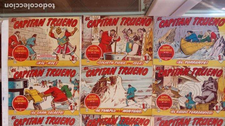 Tebeos: EL CAPITÀN TRUENO ORIGINAL AÑO 1956 COMPLETA Y SUELTA 1 AL 618 - VER TODAS LAS PORTADAS, MUY BUENA - Foto 135 - 204841075