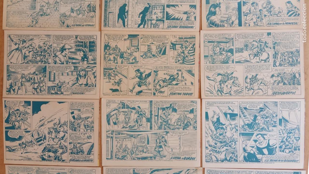 Tebeos: EL CAPITÀN TRUENO ORIGINAL AÑO 1956 COMPLETA Y SUELTA 1 AL 618 - VER TODAS LAS PORTADAS, MUY BUENA - Foto 138 - 204841075