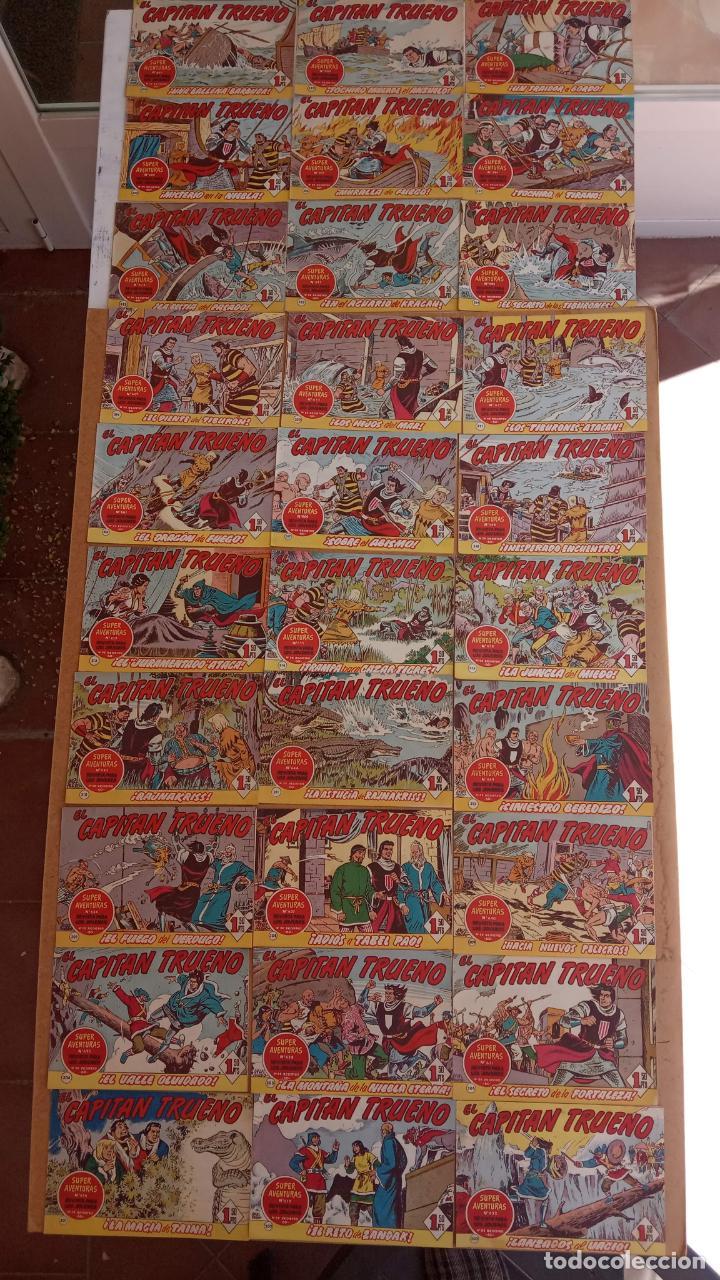 Tebeos: EL CAPITÀN TRUENO ORIGINAL AÑO 1956 COMPLETA Y SUELTA 1 AL 618 - VER TODAS LAS PORTADAS, MUY BUENA - Foto 142 - 204841075