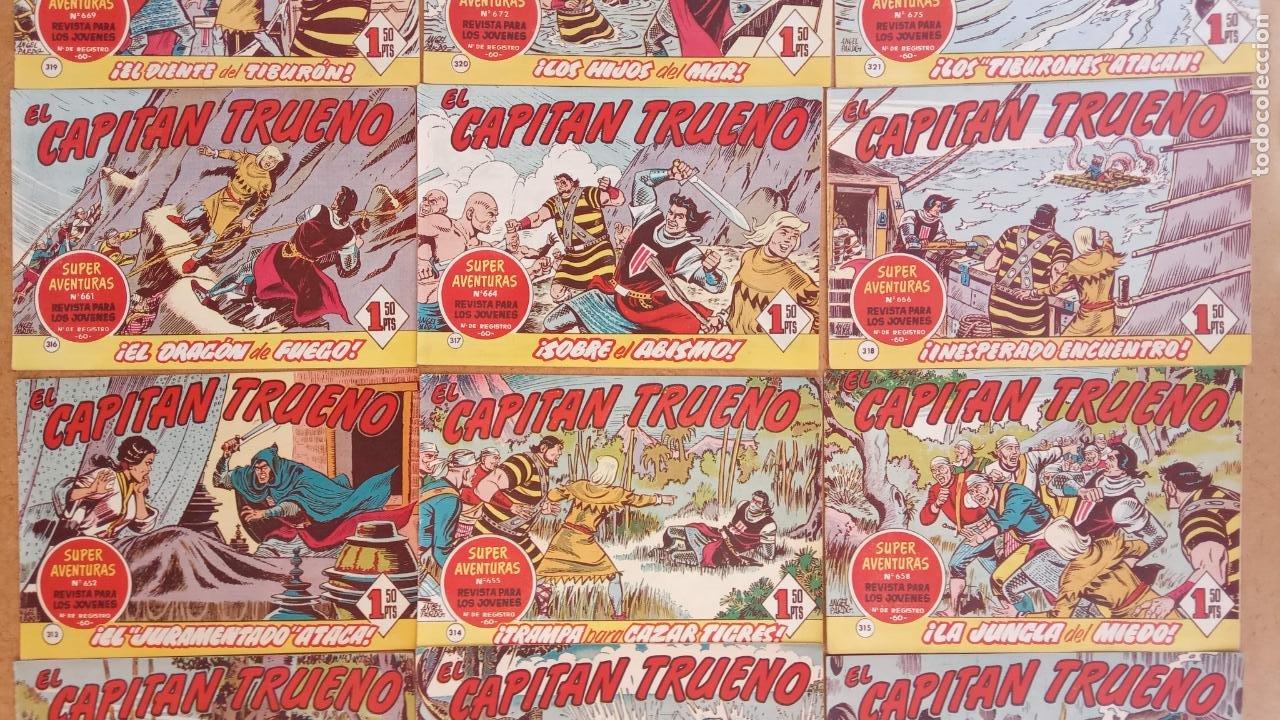 Tebeos: EL CAPITÀN TRUENO ORIGINAL AÑO 1956 COMPLETA Y SUELTA 1 AL 618 - VER TODAS LAS PORTADAS, MUY BUENA - Foto 145 - 204841075