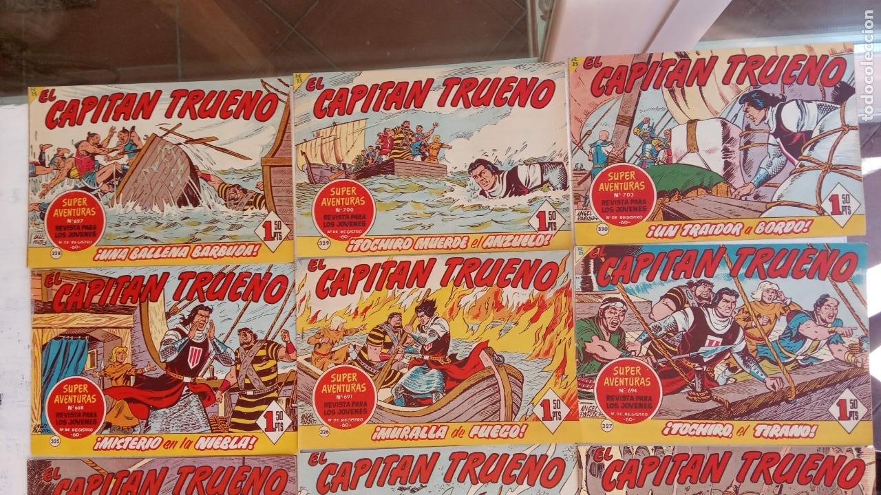 Tebeos: EL CAPITÀN TRUENO ORIGINAL AÑO 1956 COMPLETA Y SUELTA 1 AL 618 - VER TODAS LAS PORTADAS, MUY BUENA - Foto 146 - 204841075