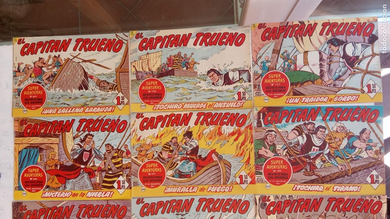 Tebeos: EL CAPITÀN TRUENO ORIGINAL AÑO 1956 COMPLETA Y SUELTA 1 AL 618 - VER TODAS LAS PORTADAS, MUY BUENA - Foto 147 - 204841075