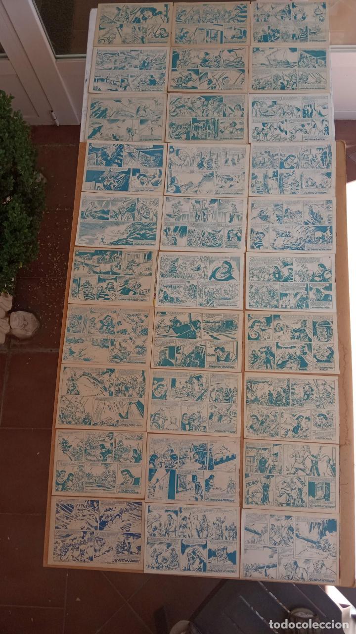 Tebeos: EL CAPITÀN TRUENO ORIGINAL AÑO 1956 COMPLETA Y SUELTA 1 AL 618 - VER TODAS LAS PORTADAS, MUY BUENA - Foto 148 - 204841075