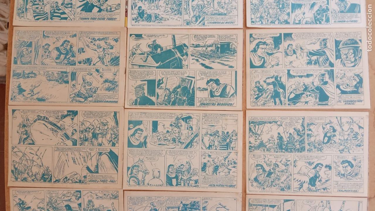 Tebeos: EL CAPITÀN TRUENO ORIGINAL AÑO 1956 COMPLETA Y SUELTA 1 AL 618 - VER TODAS LAS PORTADAS, MUY BUENA - Foto 150 - 204841075