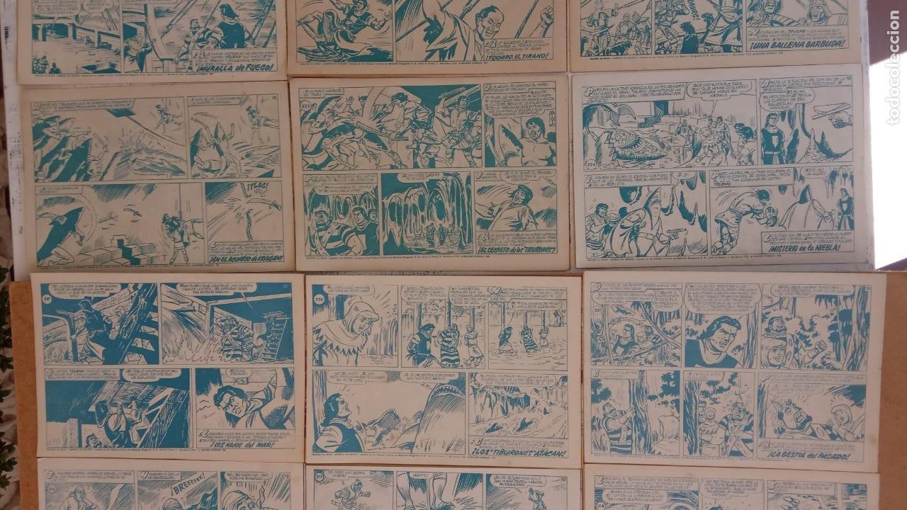 Tebeos: EL CAPITÀN TRUENO ORIGINAL AÑO 1956 COMPLETA Y SUELTA 1 AL 618 - VER TODAS LAS PORTADAS, MUY BUENA - Foto 152 - 204841075