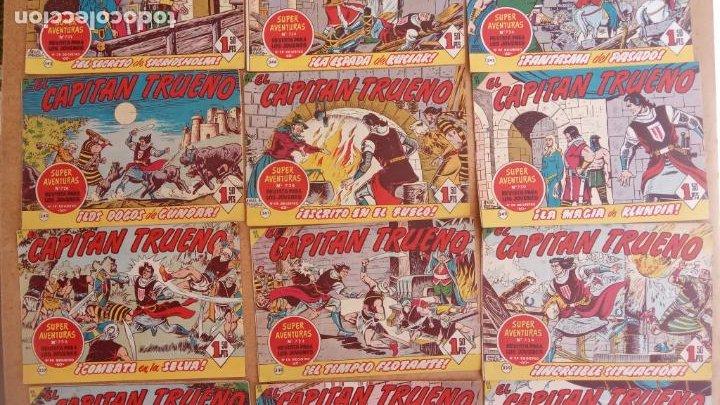 Tebeos: EL CAPITÀN TRUENO ORIGINAL AÑO 1956 COMPLETA Y SUELTA 1 AL 618 - VER TODAS LAS PORTADAS, MUY BUENA - Foto 155 - 204841075