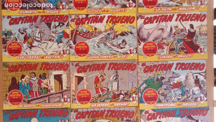 Tebeos: EL CAPITÀN TRUENO ORIGINAL AÑO 1956 COMPLETA Y SUELTA 1 AL 618 - VER TODAS LAS PORTADAS, MUY BUENA - Foto 156 - 204841075