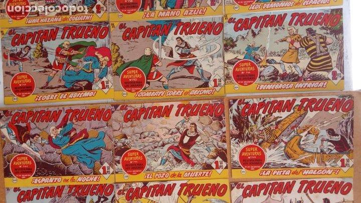 Tebeos: EL CAPITÀN TRUENO ORIGINAL AÑO 1956 COMPLETA Y SUELTA 1 AL 618 - VER TODAS LAS PORTADAS, MUY BUENA - Foto 157 - 204841075