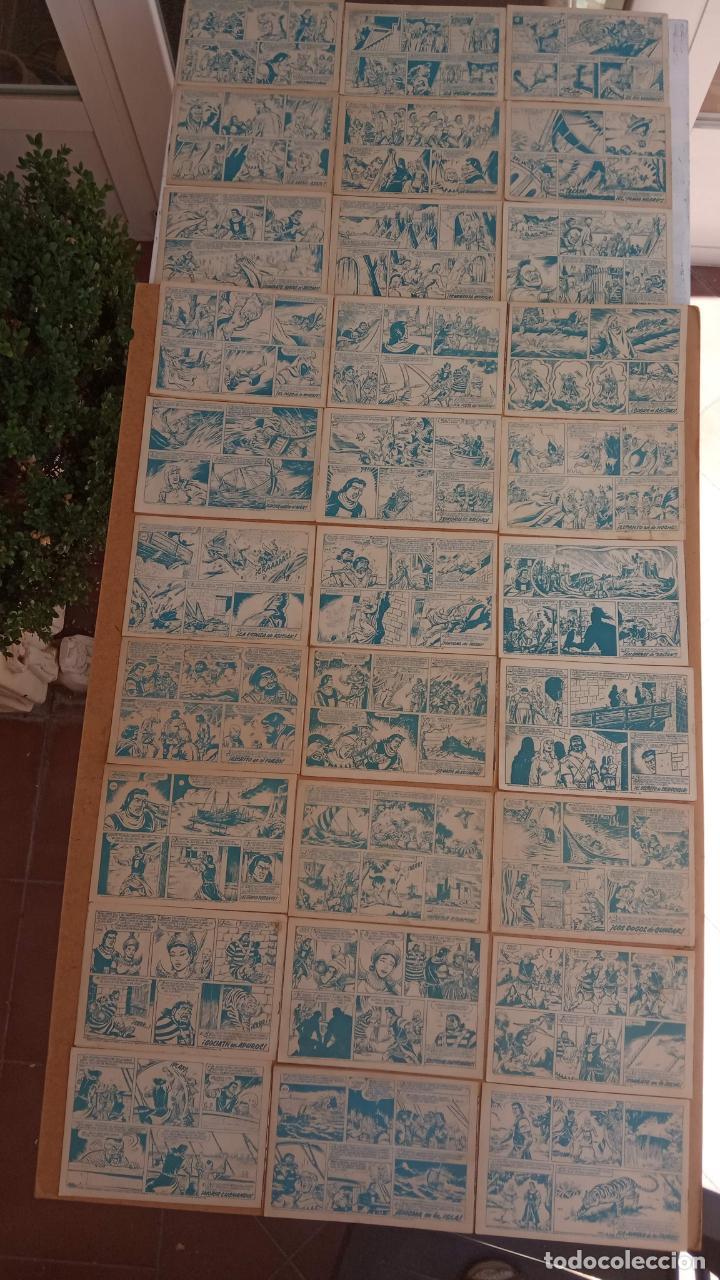 Tebeos: EL CAPITÀN TRUENO ORIGINAL AÑO 1956 COMPLETA Y SUELTA 1 AL 618 - VER TODAS LAS PORTADAS, MUY BUENA - Foto 160 - 204841075
