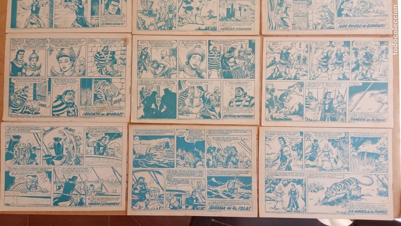 Tebeos: EL CAPITÀN TRUENO ORIGINAL AÑO 1956 COMPLETA Y SUELTA 1 AL 618 - VER TODAS LAS PORTADAS, MUY BUENA - Foto 161 - 204841075