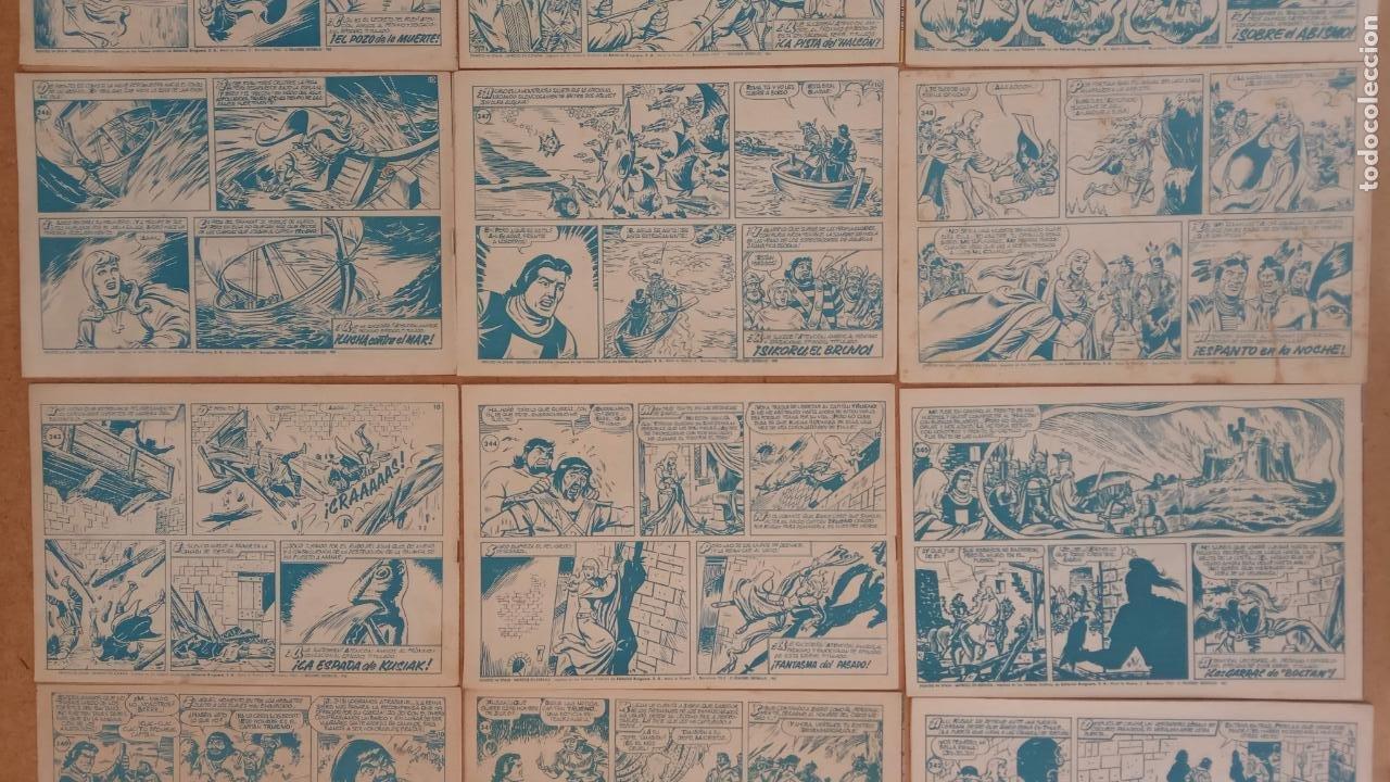 Tebeos: EL CAPITÀN TRUENO ORIGINAL AÑO 1956 COMPLETA Y SUELTA 1 AL 618 - VER TODAS LAS PORTADAS, MUY BUENA - Foto 163 - 204841075