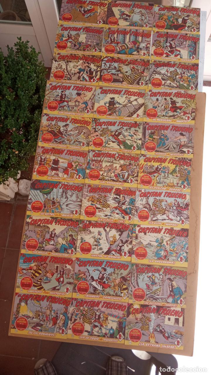 Tebeos: EL CAPITÀN TRUENO ORIGINAL AÑO 1956 COMPLETA Y SUELTA 1 AL 618 - VER TODAS LAS PORTADAS, MUY BUENA - Foto 166 - 204841075