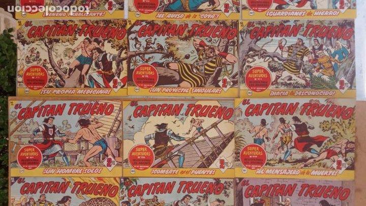 Tebeos: EL CAPITÀN TRUENO ORIGINAL AÑO 1956 COMPLETA Y SUELTA 1 AL 618 - VER TODAS LAS PORTADAS, MUY BUENA - Foto 170 - 204841075