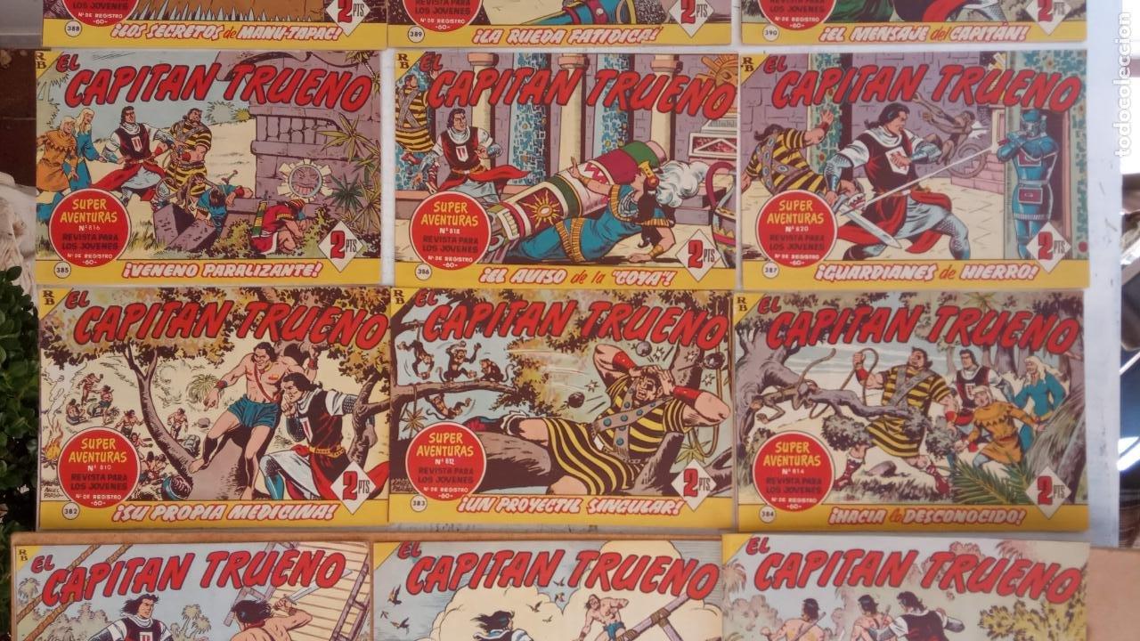 Tebeos: EL CAPITÀN TRUENO ORIGINAL AÑO 1956 COMPLETA Y SUELTA 1 AL 618 - VER TODAS LAS PORTADAS, MUY BUENA - Foto 172 - 204841075