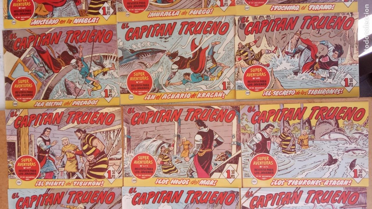 Tebeos: EL CAPITÀN TRUENO ORIGINAL AÑO 1956 COMPLETA Y SUELTA 1 AL 618 - VER TODAS LAS PORTADAS, MUY BUENA - Foto 178 - 204841075