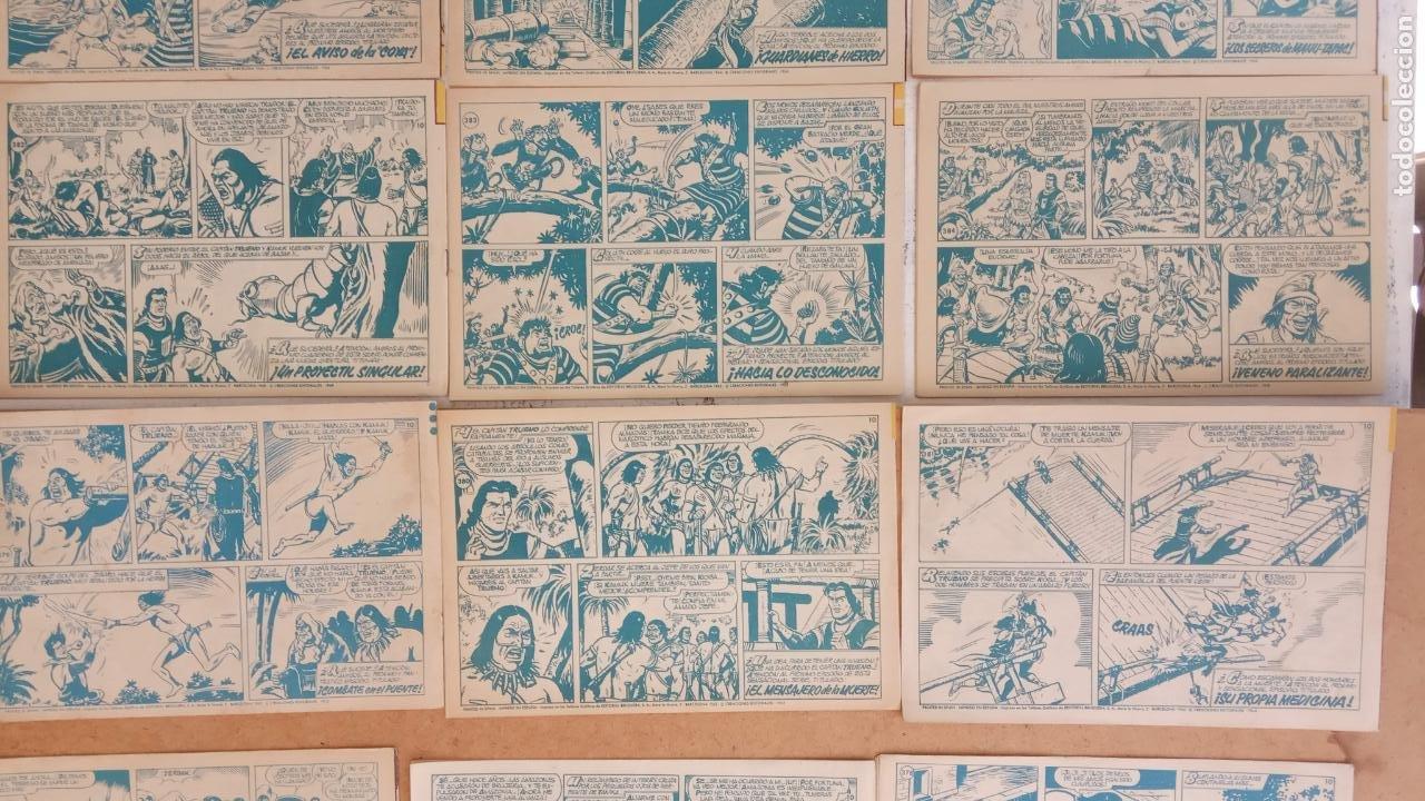 Tebeos: EL CAPITÀN TRUENO ORIGINAL AÑO 1956 COMPLETA Y SUELTA 1 AL 618 - VER TODAS LAS PORTADAS, MUY BUENA - Foto 179 - 204841075