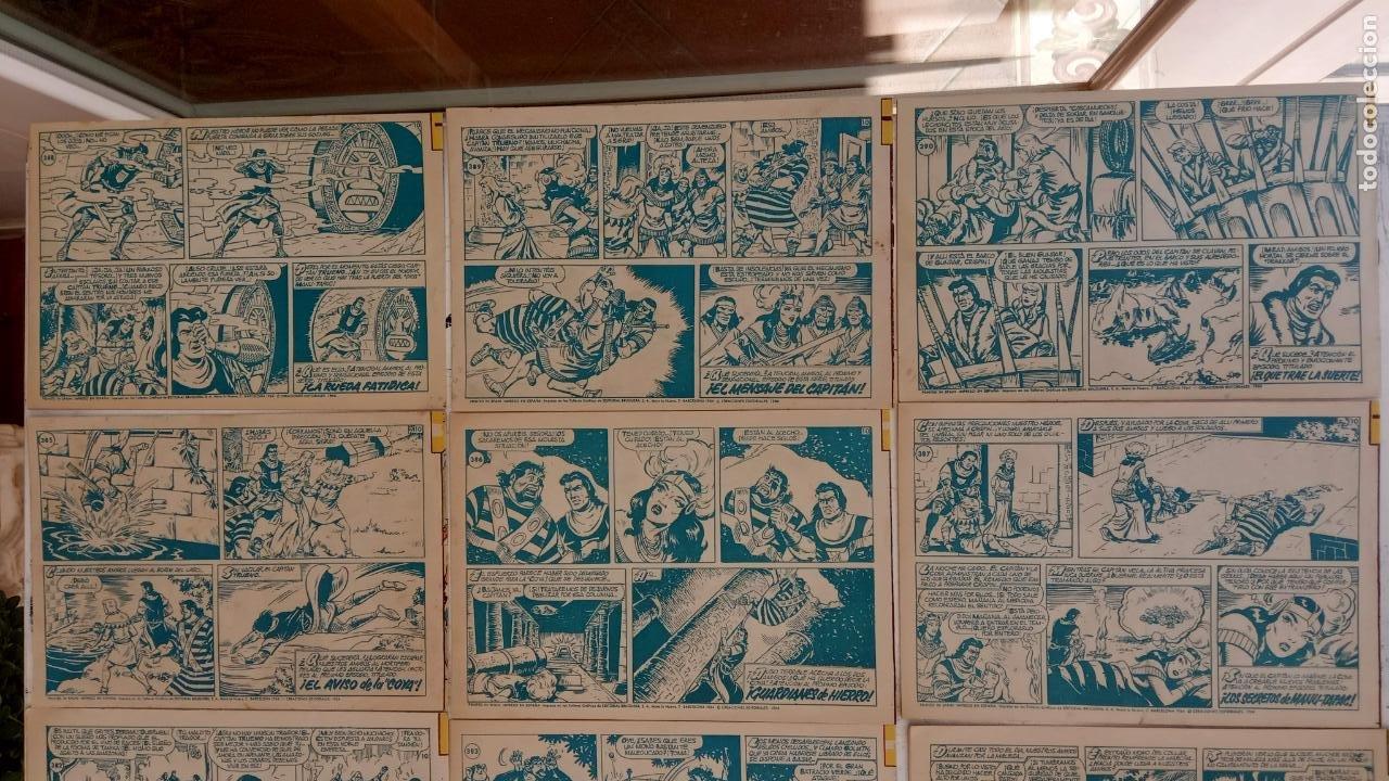 Tebeos: EL CAPITÀN TRUENO ORIGINAL AÑO 1956 COMPLETA Y SUELTA 1 AL 618 - VER TODAS LAS PORTADAS, MUY BUENA - Foto 180 - 204841075