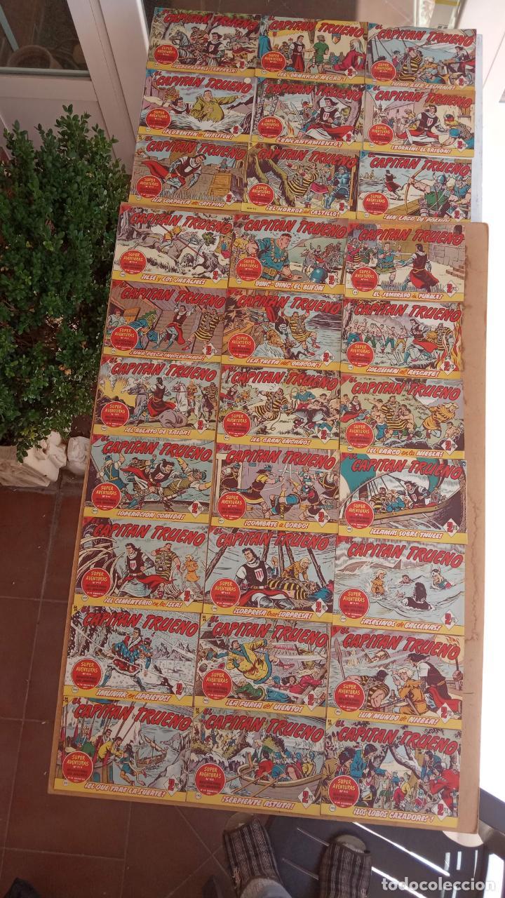 Tebeos: EL CAPITÀN TRUENO ORIGINAL AÑO 1956 COMPLETA Y SUELTA 1 AL 618 - VER TODAS LAS PORTADAS, MUY BUENA - Foto 181 - 204841075