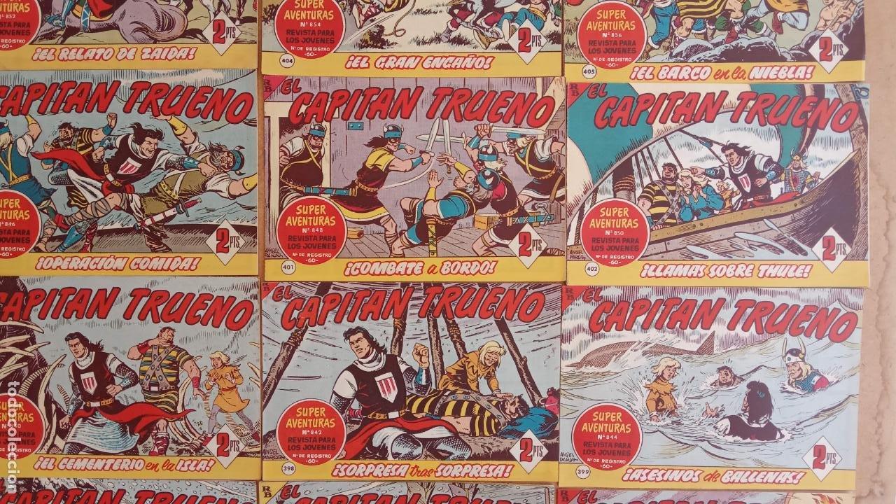 Tebeos: EL CAPITÀN TRUENO ORIGINAL AÑO 1956 COMPLETA Y SUELTA 1 AL 618 - VER TODAS LAS PORTADAS, MUY BUENA - Foto 183 - 204841075