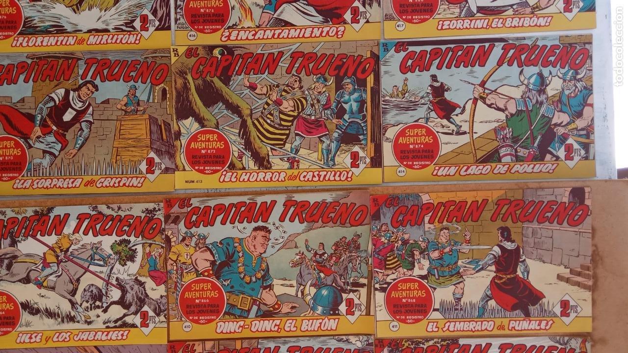 Tebeos: EL CAPITÀN TRUENO ORIGINAL AÑO 1956 COMPLETA Y SUELTA 1 AL 618 - VER TODAS LAS PORTADAS, MUY BUENA - Foto 185 - 204841075