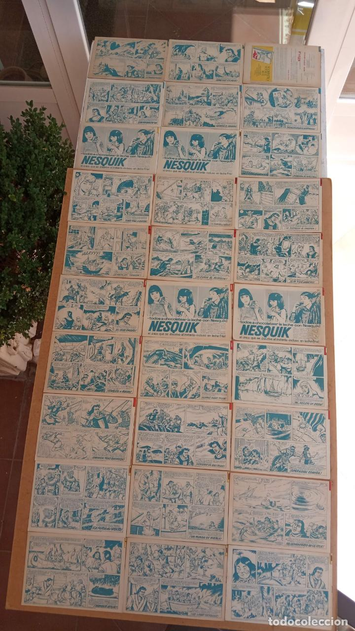 Tebeos: EL CAPITÀN TRUENO ORIGINAL AÑO 1956 COMPLETA Y SUELTA 1 AL 618 - VER TODAS LAS PORTADAS, MUY BUENA - Foto 187 - 204841075