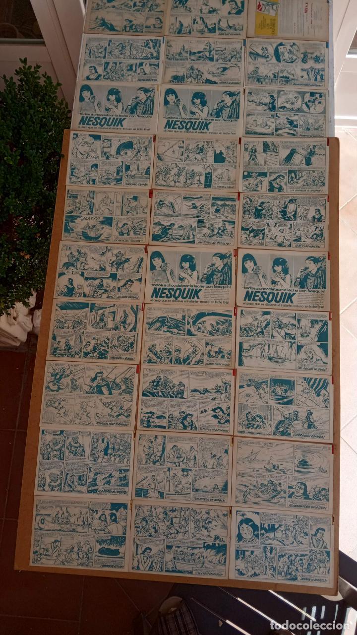Tebeos: EL CAPITÀN TRUENO ORIGINAL AÑO 1956 COMPLETA Y SUELTA 1 AL 618 - VER TODAS LAS PORTADAS, MUY BUENA - Foto 188 - 204841075