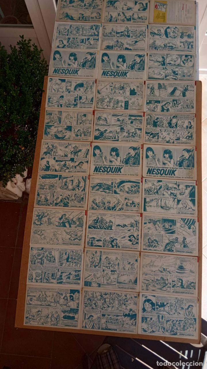 Tebeos: EL CAPITÀN TRUENO ORIGINAL AÑO 1956 COMPLETA Y SUELTA 1 AL 618 - VER TODAS LAS PORTADAS, MUY BUENA - Foto 189 - 204841075