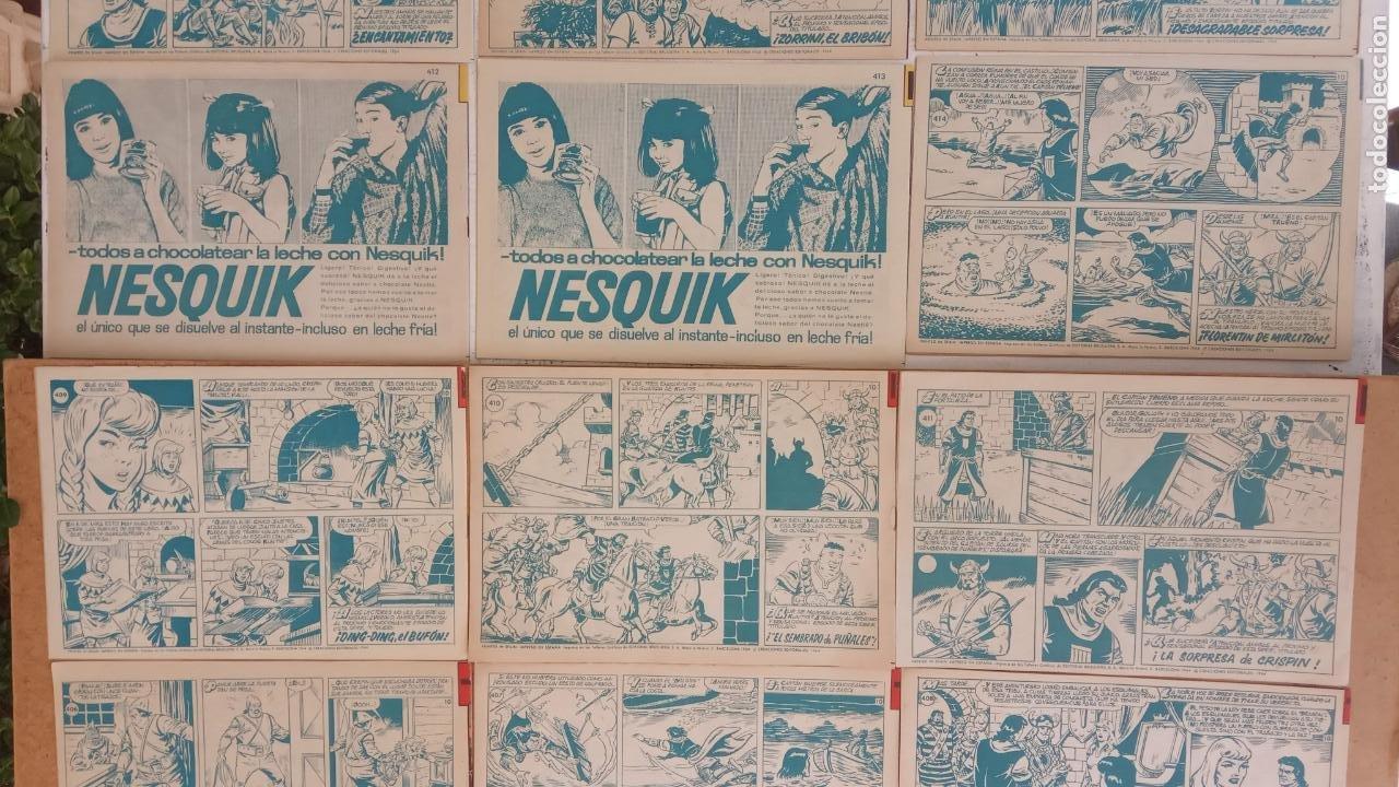 Tebeos: EL CAPITÀN TRUENO ORIGINAL AÑO 1956 COMPLETA Y SUELTA 1 AL 618 - VER TODAS LAS PORTADAS, MUY BUENA - Foto 193 - 204841075