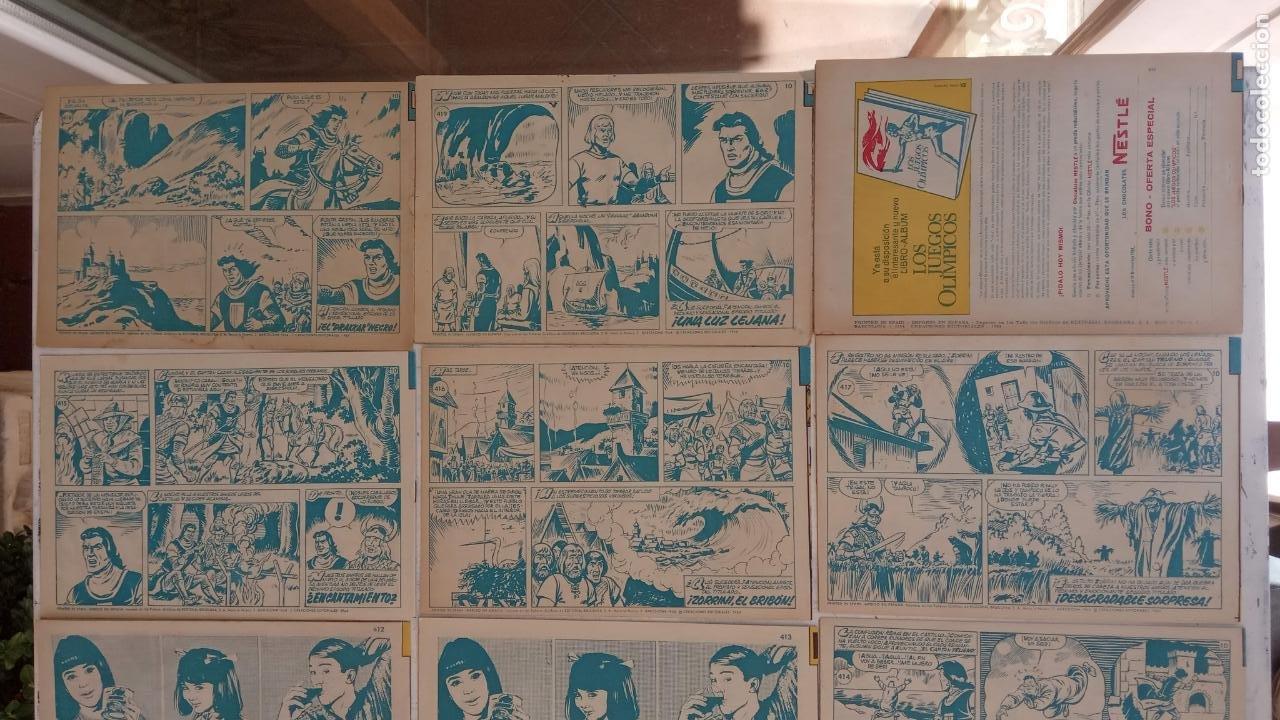 Tebeos: EL CAPITÀN TRUENO ORIGINAL AÑO 1956 COMPLETA Y SUELTA 1 AL 618 - VER TODAS LAS PORTADAS, MUY BUENA - Foto 194 - 204841075