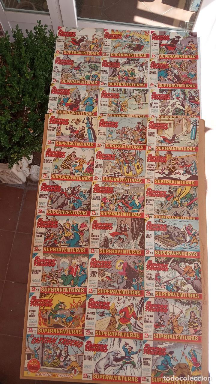 Tebeos: EL CAPITÀN TRUENO ORIGINAL AÑO 1956 COMPLETA Y SUELTA 1 AL 618 - VER TODAS LAS PORTADAS, MUY BUENA - Foto 195 - 204841075