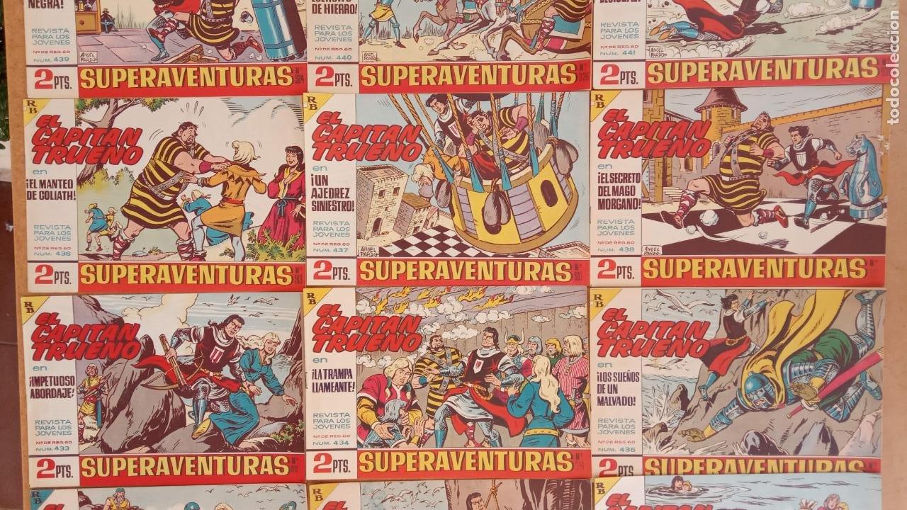 Tebeos: EL CAPITÀN TRUENO ORIGINAL AÑO 1956 COMPLETA Y SUELTA 1 AL 618 - VER TODAS LAS PORTADAS, MUY BUENA - Foto 198 - 204841075