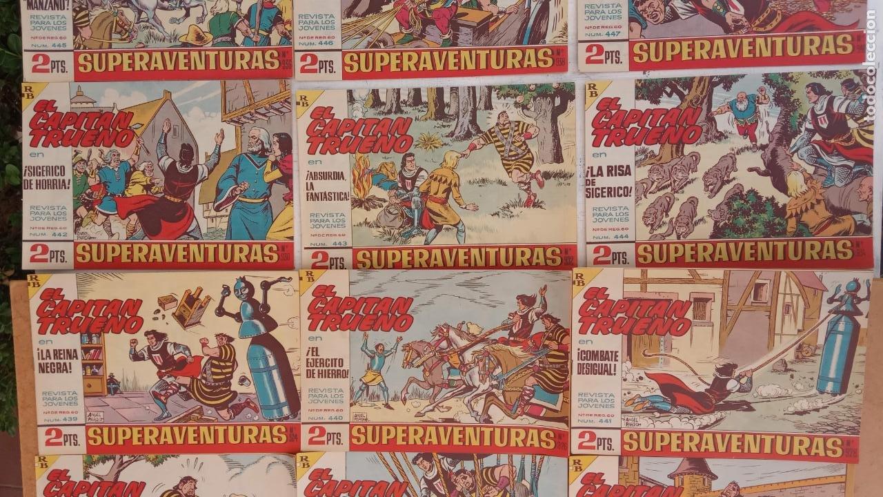 Tebeos: EL CAPITÀN TRUENO ORIGINAL AÑO 1956 COMPLETA Y SUELTA 1 AL 618 - VER TODAS LAS PORTADAS, MUY BUENA - Foto 199 - 204841075
