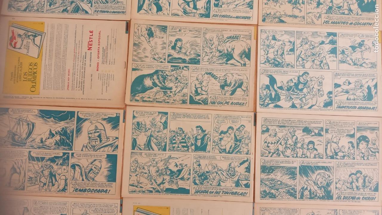Tebeos: EL CAPITÀN TRUENO ORIGINAL AÑO 1956 COMPLETA Y SUELTA 1 AL 618 - VER TODAS LAS PORTADAS, MUY BUENA - Foto 202 - 204841075