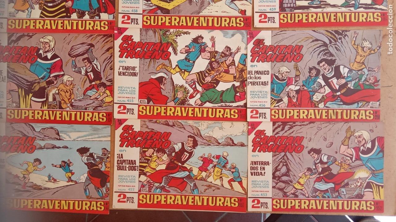 Tebeos: EL CAPITÀN TRUENO ORIGINAL AÑO 1956 COMPLETA Y SUELTA 1 AL 618 - VER TODAS LAS PORTADAS, MUY BUENA - Foto 207 - 204841075