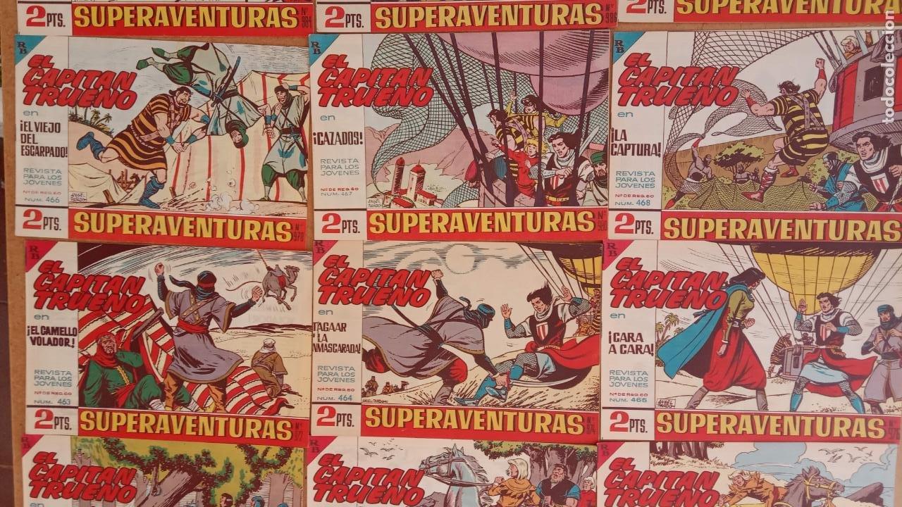 Tebeos: EL CAPITÀN TRUENO ORIGINAL AÑO 1956 COMPLETA Y SUELTA 1 AL 618 - VER TODAS LAS PORTADAS, MUY BUENA - Foto 209 - 204841075