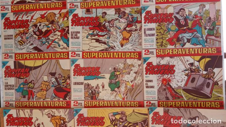 Tebeos: EL CAPITÀN TRUENO ORIGINAL AÑO 1956 COMPLETA Y SUELTA 1 AL 618 - VER TODAS LAS PORTADAS, MUY BUENA - Foto 210 - 204841075